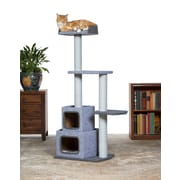 Prevue Hendryx 54'' Kitty Power Paws Sky Tower Cat Tree