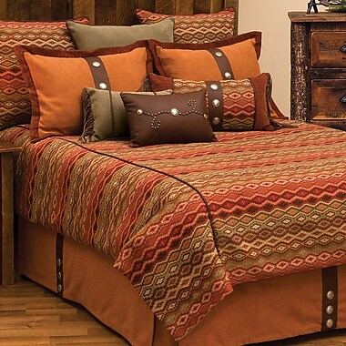 Wooded River Marquise IV 7 Piece Reversible Duvet Set; Full
