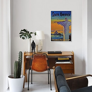 East Urban Home 'South America - By Clipper I' Vintage Advertisement on Canvas