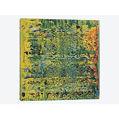 East Urban Home 'Apple Martin' Painting Print on Canvas; 12'' H x 12'' W x 1.5'' D