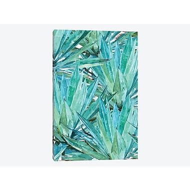 East Urban Home 'Agave' Graphic Art Print on Canvas; 40'' H x 26'' W x 1.5'' D