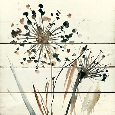 East Urban Home 'Nature's Lace II' Painting Print on Canvas; 26'' H x 26'' W x 0.75'' D
