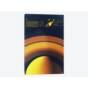 East Urban Home 'Our Solar System: Saturn' Graphic Art Print on Canvas; 18'' H x 12'' W x 1.5'' D