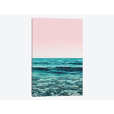 East Urban Home 'Ocean' Graphic Art Print on Canvas; 18'' H x 12'' W x 0.75'' D