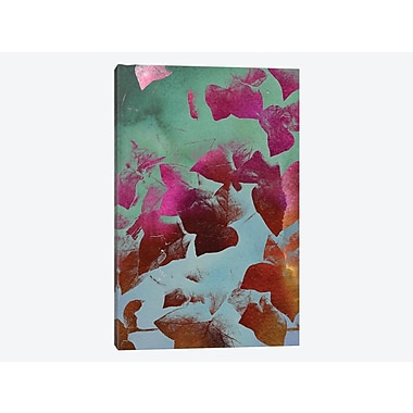 East Urban Home 'Ivy' Graphic Art Print on Canvas; 18'' H x 12'' W x 1.5'' D