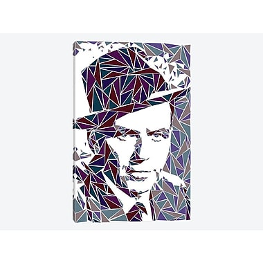 East Urban Home 'Frank Sinatra' Graphic Art Print on Canvas; 12'' H x 8'' W x 0.75'' D