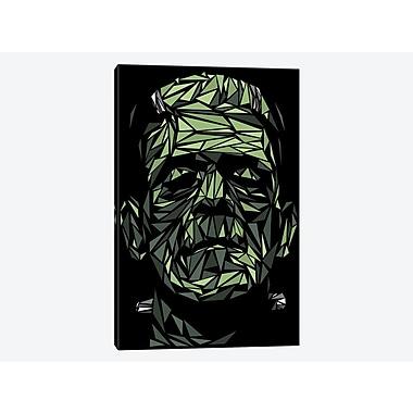 East Urban Home 'Frankenstein' Graphic Art Print on Canvas; 40'' H x 26'' W x 1.5'' D