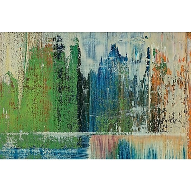 East Urban Home 'Under Pressure' Painting Print on Canvas; 18'' H x 26'' W x 0.75'' D