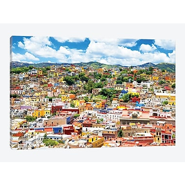 East Urban Home ' Viva Mexico! Series: Cityscape of Guanajuato' Photographic Print on Canvas