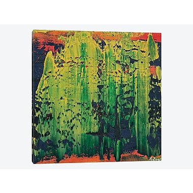 East Urban Home 'Oasis' Painting Print on Canvas; 26'' H x 26'' W x 0.75'' D