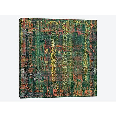 East Urban Home 'Two Joints' Painting Print on Canvas; 26'' H x 26'' W x 0.75'' D