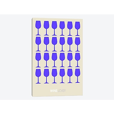 East Urban Home 'Wine Lover II' Graphic Art Print on Canvas; 26'' H x 18'' W x 0.75'' D