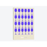East Urban Home 'Wine Lover II' Graphic Art Print on Canvas; 60'' H x 40'' W x 1.5'' D