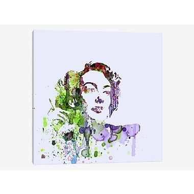 East Urban Home 'Joan Crawford' Graphic Art Print on Canvas; 26'' H x 26'' W x 1.5'' D