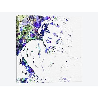 East Urban Home 'Judy Garland I' Graphic Art Print on Canvas; 18'' H x 18'' W x 1.5'' D