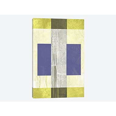 East Urban Home 'Yellow Mist I' Graphic Art Print on Canvas; 18'' H x 12'' W x 0.75'' D