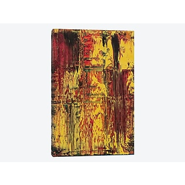 East Urban Home 'Rasta' Painting Print on Canvas; 60'' H x 40'' W x 1.5'' D
