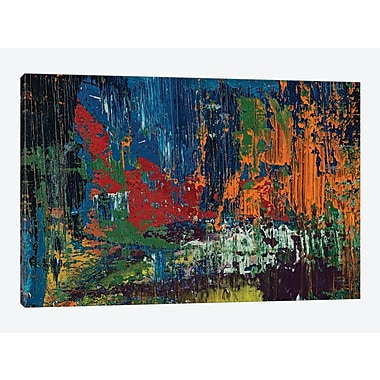 East Urban Home 'Sabotage' Painting Print on Canvas; 8'' H x 12'' W x 0.75'' D