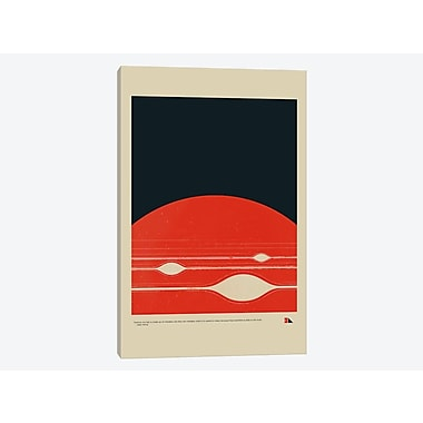 East Urban Home 'Gas Giant' Graphic Art Print on Canvas; 12'' H x 8'' W x 0.75'' D