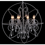 One Allium Way Flaxton 8-Light Candle-Style Chandelier