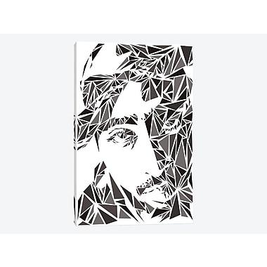 East Urban Home '2Pac II' Graphic Art Print on Canvas; 18'' H x 12'' W x 0.75'' D