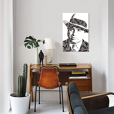 East Urban Home 'Al Capone' Graphic Art Print on Canvas; 18'' H x 12'' W x 0.75'' D