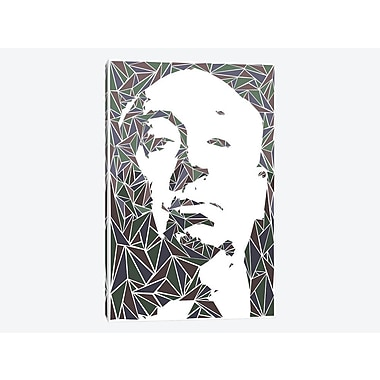 East Urban Home 'Alfred Hitchcock' Graphic Art Print on Canvas; 40'' H x 26'' W x 1.5'' D
