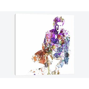 East Urban Home 'Sean Penn' Graphic Art Print on Canvas; 26'' H x 26'' W x 1.5'' D