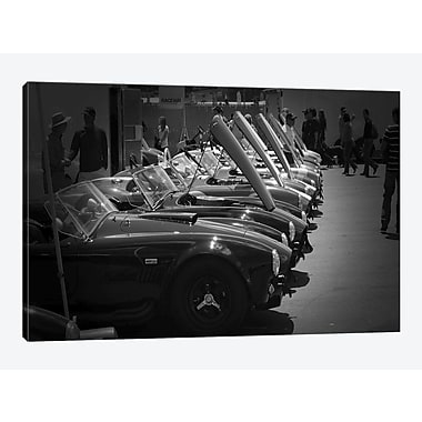 East Urban Home 'Race Day' Photographic Print on Canvas; 12'' H x 18'' W x 0.75'' D