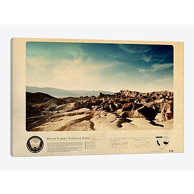 East Urban Home 'Death Valley National Park' Graphic Art Print on Canvas; 26'' H x 40'' W x 1.5'' D