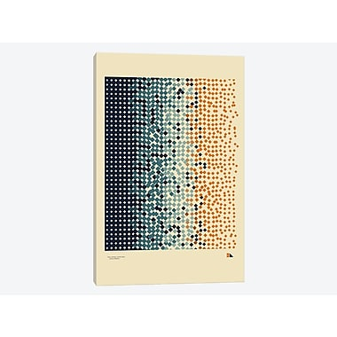 East Urban Home 'Entropy' Graphic Art Print on Canvas; 12'' H x 8'' W x 0.75'' D
