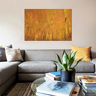 East Urban Home 'Desert Eagle' Painting Print on Canvas; 18'' H x 26'' W x 1.5'' D