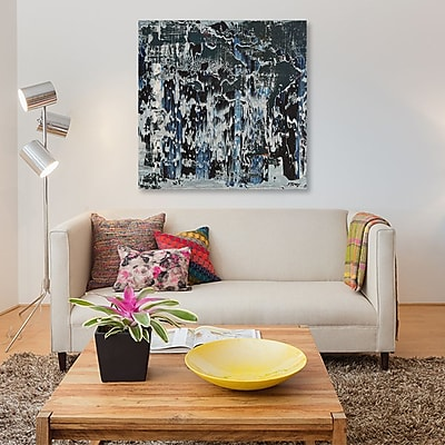 East Urban Home 'DJ Jazzy' Painting Print on Canvas; 26'' H x 26'' W x 0.75'' D