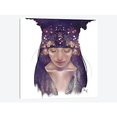 East Urban Home 'The Goddess Constellation' Graphic Art Print on Canvas; 37'' H x 37'' W x 1.5'' D