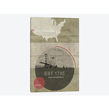 East Urban Home 'San Francisco Will Bring You Alive' Graphic Art Print on Canvas