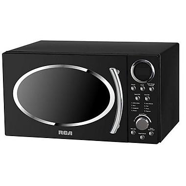 RCA RMW987-BLACK 0.9 CU FT Retro Microwave