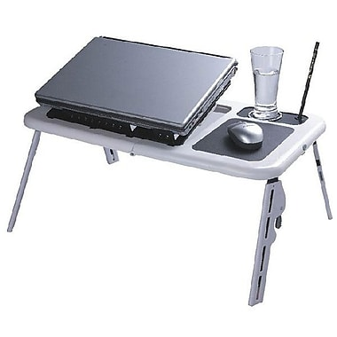MMNOX 5188A Foldable Laptop Cooling Table, Silver/Black (AS-MX-5188A)
