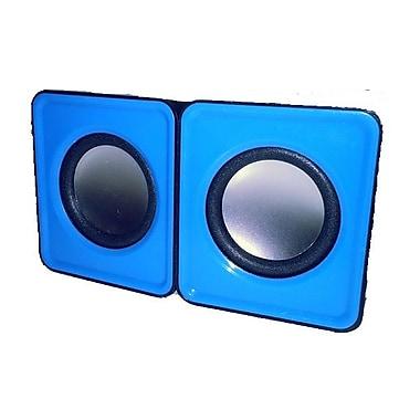 MMNOX 324B Portable USB Speakers, Black (SP-MX-HM324B)
