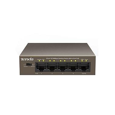 Tenda TEF1105P 5-Port 100 Mbps Desktop Switch with 4