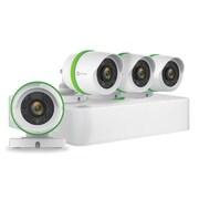 EZVIZ – Système de sécurité 8 canaux, 4 caméras canon 720p résistantes aux intempéries, DVR 1To (BD-2804B1)