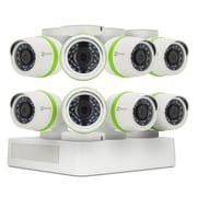 EZVIZ – Système de sécurité 8 canaux, 8 caméras canon 720p résistantes aux intempéries, DVR 1To (BD-2808B1)