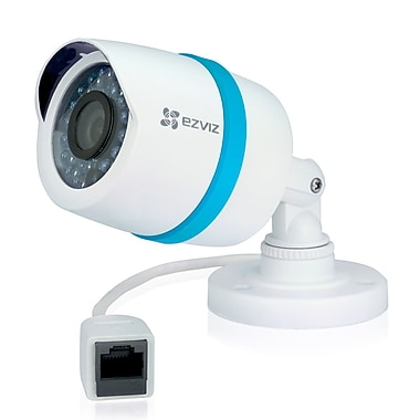 EZVIZ Weatherproof 1080p IP Bullet Add-On Security Camera for NVRs (BC-121A)