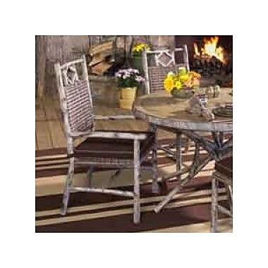 Woodard River Run Patio Dining Chair w/ Cushion; Bazaar Caf