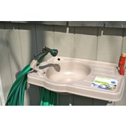 Riverstone Industries Corporation Clean-It Plastic Outdoor Sink; 16.4'' H x 16.1'' W x 19.9'' D