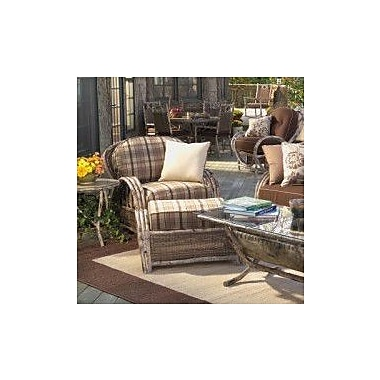 Woodard River Run Lounge Chair; Canvas Navy