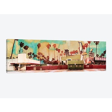 East Urban Home 'Harper's Garage' Graphic Art Print on Canvas; 12'' H x 36'' W x 1.5'' D