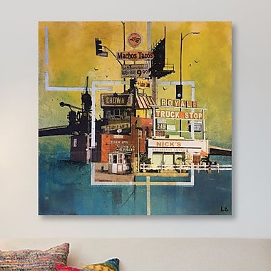 East Urban Home 'Machos Tacos' Graphic Art Print on Canvas; 26'' H x 26'' W x 0.75'' D