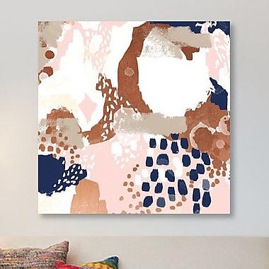 East Urban Home 'Skadi' Painting Print on Canvas; 26'' H x 26'' W x 0.75'' D