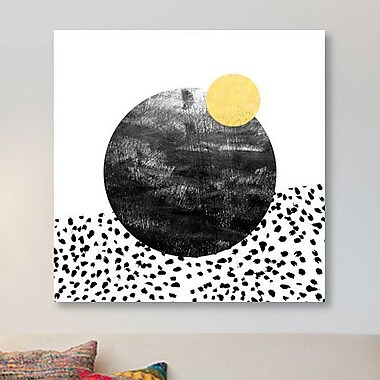 East Urban Home 'Rosel' Painting Print on Canvas; 26'' H x 26'' W x 0.75'' D