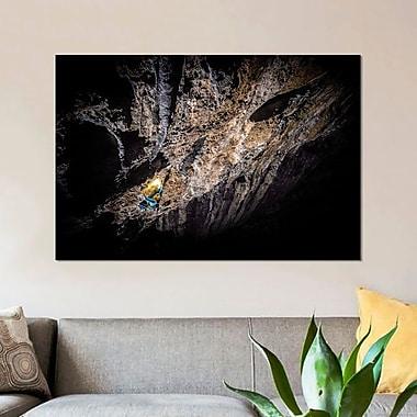 East Urban Home 'Arc'teryx Alpine Academy; Chamonix-Mont-Blanc; France' Photographic Print on Canvas